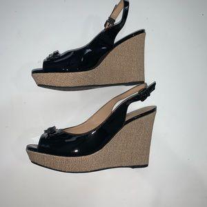 Antonio Melani Racquelle Wedges - Size 9